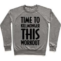 Time To Killmonger This Workout Pullover from LookHUMAN