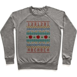 Ugly Teacher Sweater Pullover from LookHUMAN