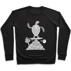 Surf Turtle Pullover from LookHUMAN