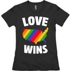 Love Wins T-Shirt from LookHUMAN