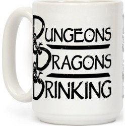 Dungeons & Dragons & Drinking Mug from LookHUMAN