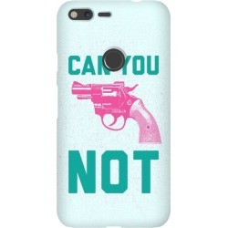 Can You Not? (Pink Gun) Phone Case from LookHUMAN found on Bargain Bro Philippines from LookHUMAN for $25.99