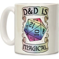 D&D Is Magical Mug from LookHUMAN