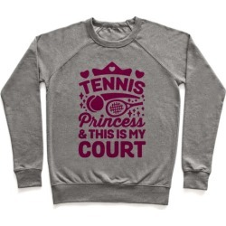 Tennis Princess Pullover from LookHUMAN