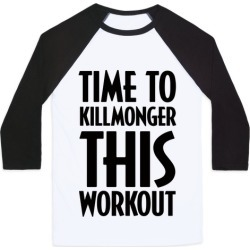Time To Killmonger This Workout Baseball Tee from LookHUMAN