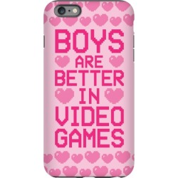 Boys Are Better In Video Games Phone Case from LookHUMAN found on GamingScroll.com from LookHUMAN for $27.99