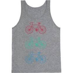 Bikes! Tank Top from LookHUMAN