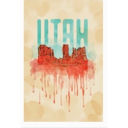 Monument Valley, Utah Poster from LookHUMAN found on Bargain Bro Philippines from LookHUMAN for $30.00