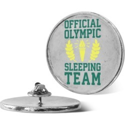 Official Olympic Sleeping Team Pin from LookHUMAN