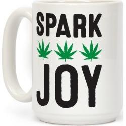 Spark Joy Weed Mug from LookHUMAN
