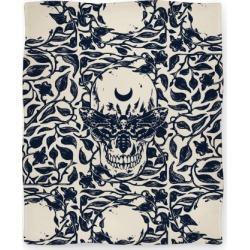 Skull Moth Blanket from LookHUMAN