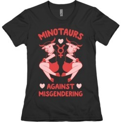 Minotaurs Against Misgendering T-Shirt from LookHUMAN found on Bargain Bro Philippines from LookHUMAN for $21.99