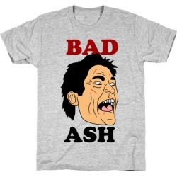 Bad Ash Couples Shirt T-Shirt from LookHUMAN