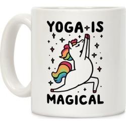Yoga Is Magical Mug from LookHUMAN