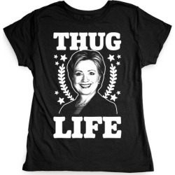Thug Life HRC T-Shirt from LookHUMAN