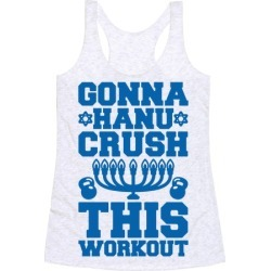 Gonna Hanu-Crush This Workout Racerback Tank from LookHUMAN