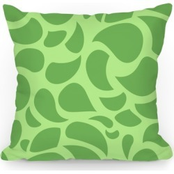 Leafy Pillow Throw Pillow from LookHUMAN found on Bargain Bro Philippines from LookHUMAN for $29.99