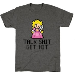 Talk Shit T-Shirt from LookHUMAN