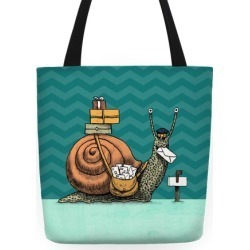 Snail Mail Tote Bag from LookHUMAN