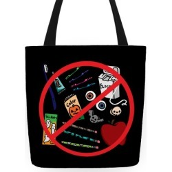 No Healthy Snacks Tote Bag from LookHUMAN found on Bargain Bro Philippines from LookHUMAN for $24.99