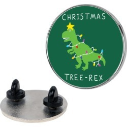 Christmas Tree Rex Pin from LookHUMAN