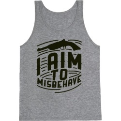 Misbehave Tank Top from LookHUMAN