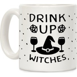 Drink Up Witches Mug from LookHUMAN found on Bargain Bro from LookHUMAN for USD $11.39