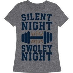 Silent Night Swoley Night T-Shirt from LookHUMAN