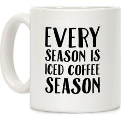 Every Season Is Iced Coffee Season Mug from LookHUMAN