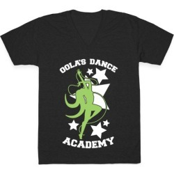 Oola's Dance Academy V-Neck T-Shirt from LookHUMAN found on Bargain Bro Philippines from LookHUMAN for $27.99