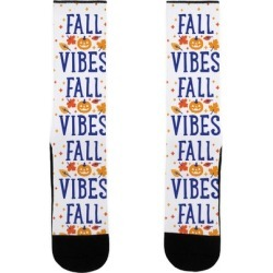 Fall Vibes Socks from LookHUMAN
