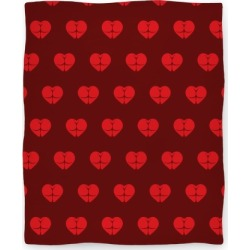 Butt Heart Blanket (Dark) Blanket from LookHUMAN found on Bargain Bro Philippines from LookHUMAN for $59.99