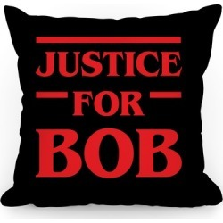 Justice For Bob Throw Pillow from LookHUMAN found on Bargain Bro India from LookHUMAN for $26.99