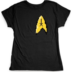 Star Trek 8-bit (Pocket) T-Shirt from LookHUMAN found on Bargain Bro Philippines from LookHUMAN for $21.99