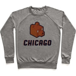 Chicago Blocks Pullover from LookHUMAN
