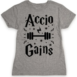 Accio Gains T-Shirt from LookHUMAN