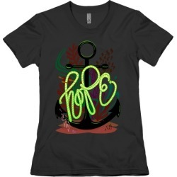 Hope (Deep Sea) T-Shirt from LookHUMAN found on Bargain Bro Philippines from LookHUMAN for $21.99
