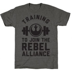Training To Join The Rebel Alliance T-Shirt from LookHUMAN found on Bargain Bro Philippines from LookHUMAN for $25.99