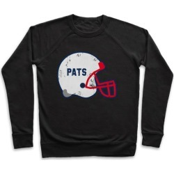 Pats Helmet Pullover from LookHUMAN