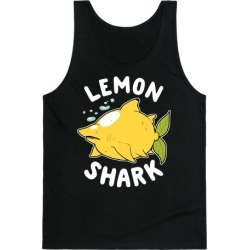 Lemon Shark Tank Top from LookHUMAN