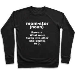 Momster Definition Pullover from LookHUMAN
