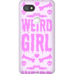 Weird Girl Phone Case from LookHUMAN