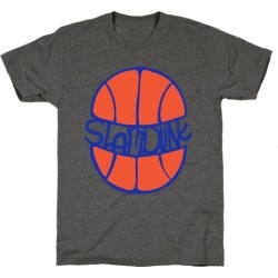 Basketball Slam Dunk T-Shirt from LookHUMAN
