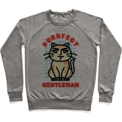Purrfect Gentleman Pullover from LookHUMAN