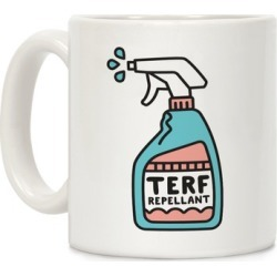 TERF Repellent Mug from LookHUMAN