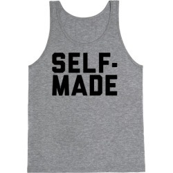 Self-Made Tank Top from LookHUMAN