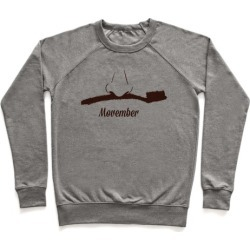 Toothbrush Mustache Pullover from LookHUMAN