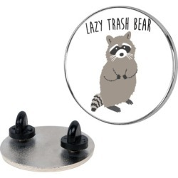 Lazy Trash Bear Pin from LookHUMAN found on Bargain Bro Philippines from LookHUMAN for $11.99