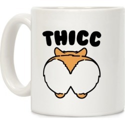 Thicc Corgi Butt Parody Mug from LookHUMAN found on Bargain Bro Philippines from LookHUMAN for $14.99