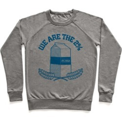 We are the 2% Pullover from LookHUMAN